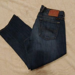 Lucky Brand Womens Easy Rider Crop Jeans Size 6/28